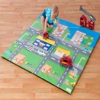 Little Town Soft Foam Nursery Mat